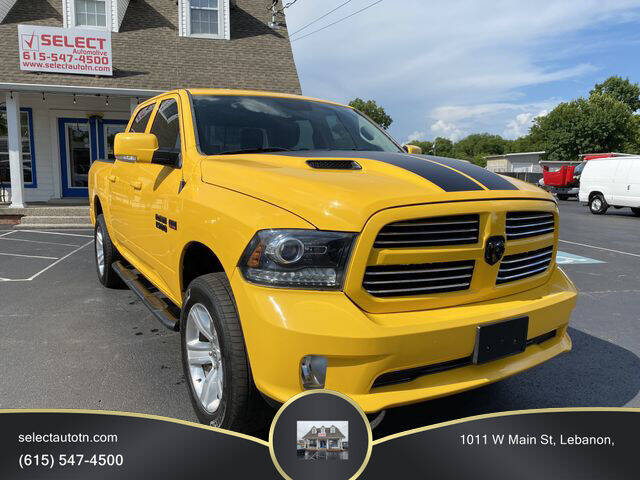 2016 RAM Ram Pickup 1500 for sale at Ron's Auto Sales (DBA Select Automotive) in Lebanon TN