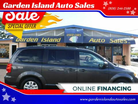 2018 Dodge Grand Caravan for sale at Garden Island Auto Sales in Lihue HI