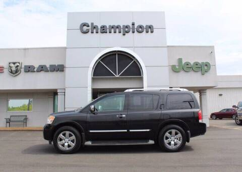 2011 Nissan Armada for sale at Champion Chevrolet in Athens AL