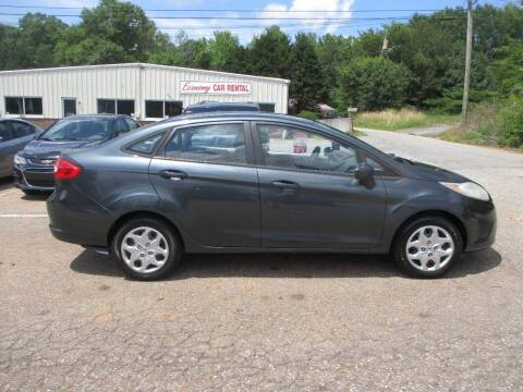 2011 Ford Fiesta for sale at Hickory Wholesale Cars Inc in Newton NC