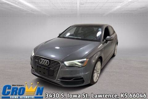 2016 Audi A3 Sportback e-tron for sale at Crown Automotive of Lawrence Kansas in Lawrence KS