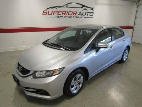 2015 Honda Civic for sale at Superior Auto Sales in New Windsor NY