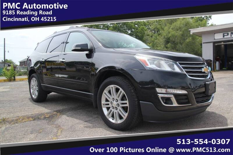 2014 Chevrolet Traverse for sale at PMC Automotive in Cincinnati OH