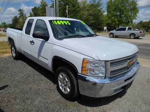 2013 Chevrolet Silverado 1500 for sale at Let's Go Auto in Florence SC