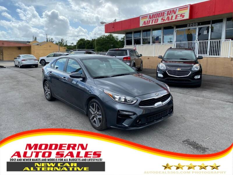 2019 Kia Forte for sale at Modern Auto Sales in Hollywood FL