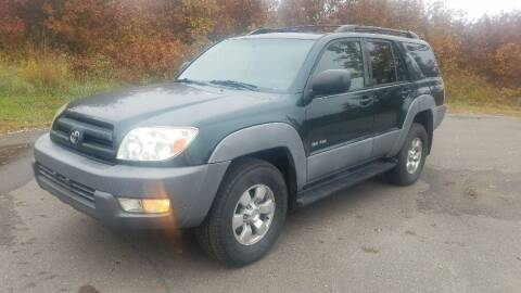 2003 Toyota 4Runner for sale at Capital Fleet  & Remarketing  Auto Finance in Columbia Heights MN