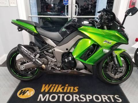 2013 Kawasaki Ninja ZX1000 for sale at WILKINS MOTORSPORTS in Brewster NY