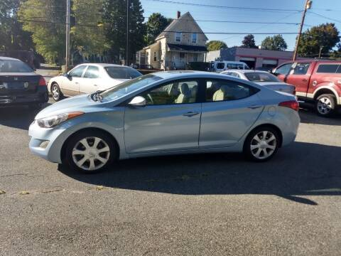 2012 Hyundai Elantra for sale at Good Works Auto Sales INC in Ashland MA