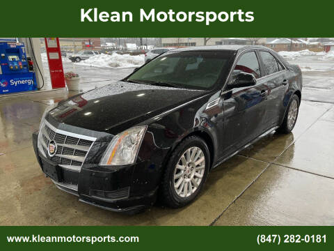 2010 Cadillac CTS for sale at Klean Motorsports in Skokie IL