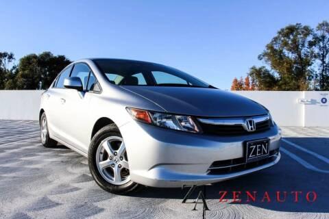 2012 Honda Civic for sale at Zen Auto Sales in Sacramento CA