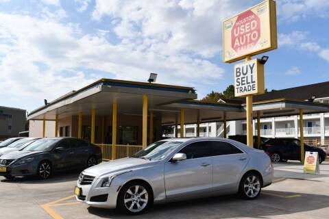 2014 Cadillac ATS for sale at Houston Used Auto Sales in Houston TX