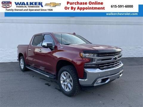 2019 Chevrolet Silverado 1500 for sale at WALKER CHEVROLET in Franklin TN