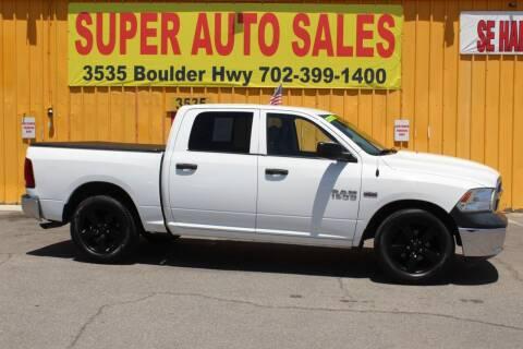 2014 RAM Ram Pickup 1500 for sale at Super Auto Sales in Las Vegas NV