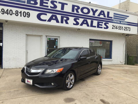 2013 Acura ILX for sale at Best Royal Car Sales in Dallas TX