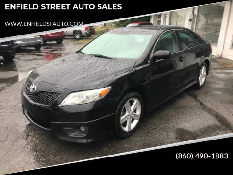 2011 Toyota Camry for sale at ENFIELD STREET AUTO SALES in Enfield CT