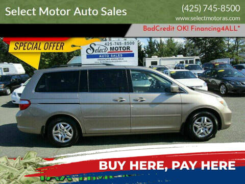 2006 Honda Odyssey for sale at Select Motor Auto Sales in Lynnwood WA