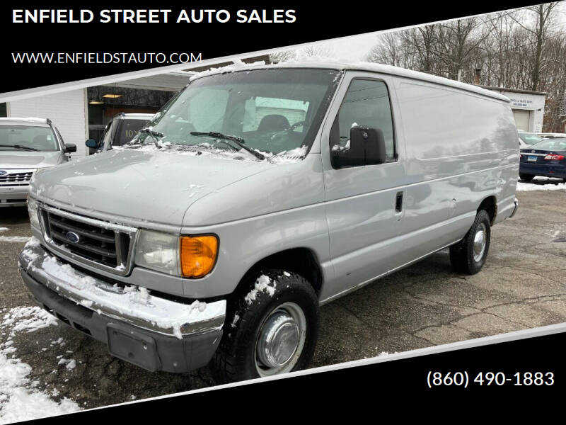 2006 Ford E-Series Cargo for sale at ENFIELD STREET AUTO SALES in Enfield CT
