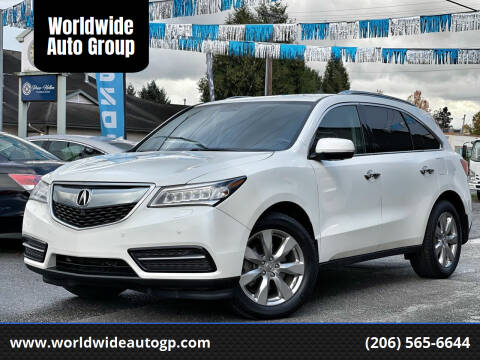 2014 Acura MDX for sale at Worldwide Auto Group in Auburn WA