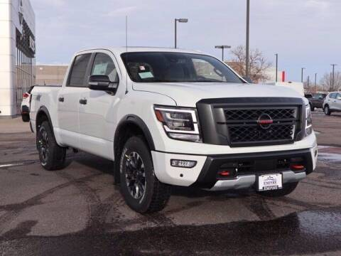 2021 Nissan Titan for sale at EMPIRE LAKEWOOD NISSAN in Lakewood CO