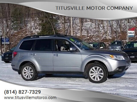 2011 Subaru Forester for sale at Titusville Motor Company in Titusville PA