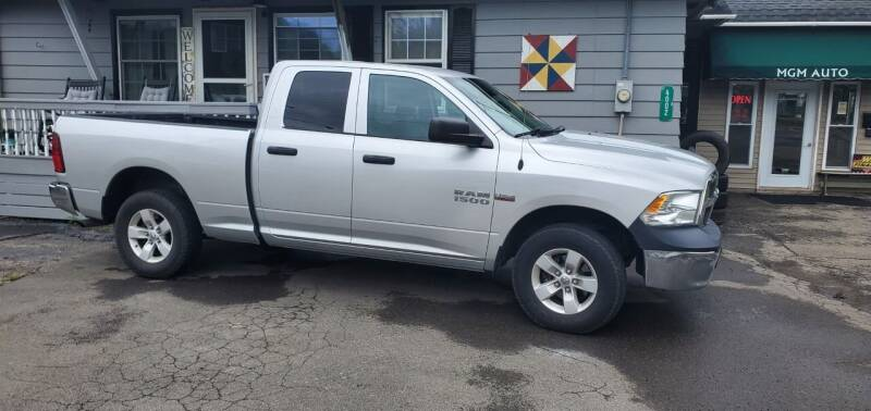 2015 RAM Ram Pickup 1500 for sale at MGM Auto Sales in Cortland NY