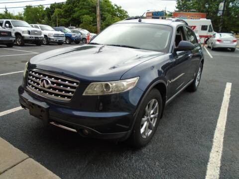 2007 Infiniti FX35 for sale at Gemini Auto Sales in Providence RI