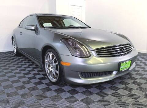 2006 Infiniti G35 for sale at Sunset Auto Wholesale in Tacoma WA