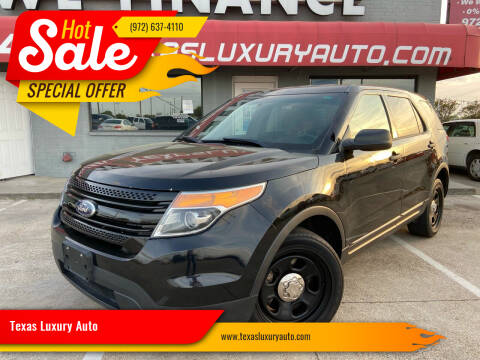 2013 Ford Explorer for sale at Texas Luxury Auto in Cedar Hill TX