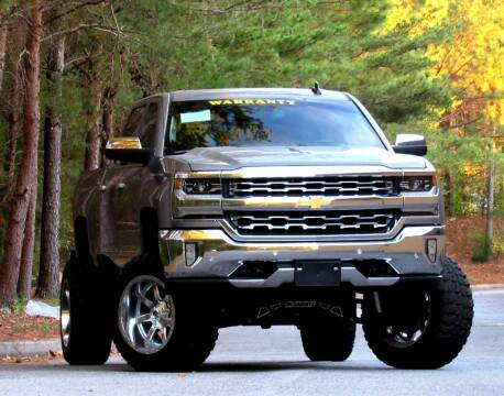 2017 Chevrolet Silverado 1500 for sale at ATLANTA DIRECT AUTO in Duluth GA