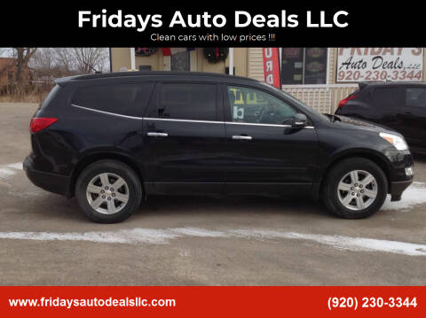 2011 Chevrolet Traverse for sale at Fridays Auto Deals LLC in Oshkosh WI