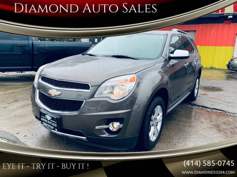 2010 Chevrolet Equinox for sale at Diamond Auto Sales in Milwaukee WI