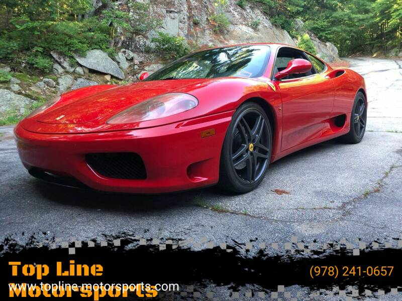 2002 Ferrari 360 Modena for sale in Derry, NH