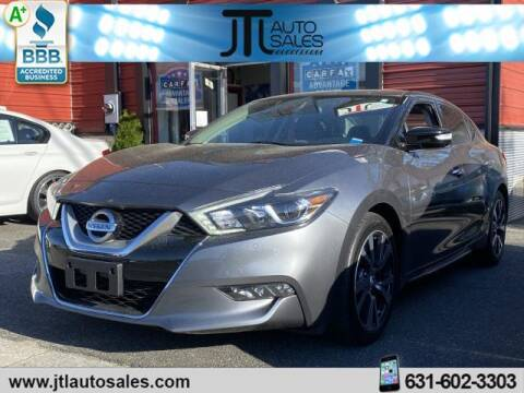 2016 Nissan Maxima for sale at JTL Auto Inc in Selden NY
