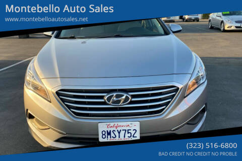 2016 Hyundai Sonata for sale at Montebello Auto Sales in Montebello CA