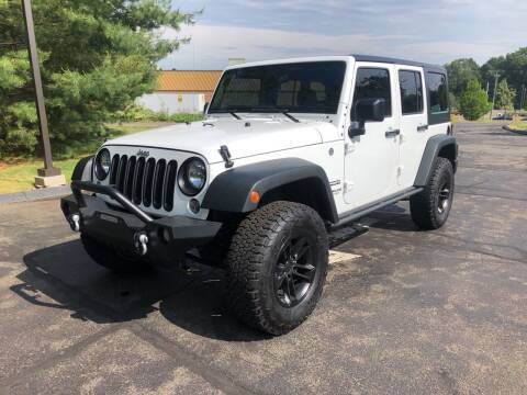 2016 Jeep Wrangler Unlimited for sale at Branford Auto Center in Branford CT