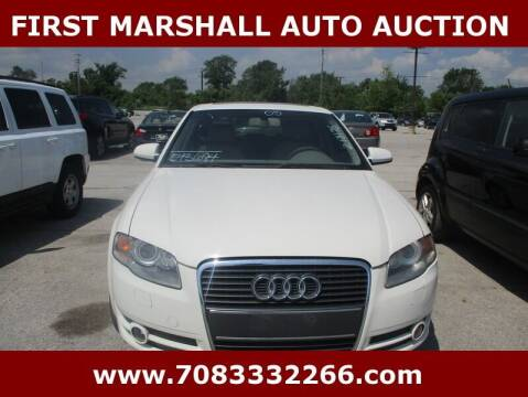2005 Audi A4 for sale at First Marshall Auto Auction in Harvey IL
