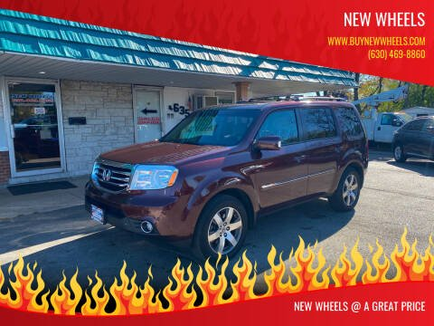 2013 Honda Pilot for sale at New Wheels in Glendale Heights IL