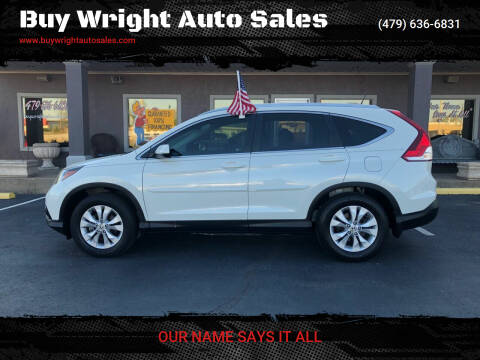 2014 Honda CR-V for sale at Buy Wright Auto Sales in Rogers AR