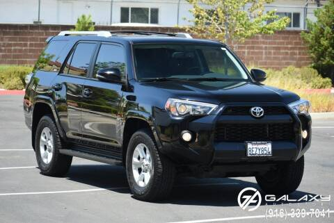2018 Toyota 4Runner for sale at Galaxy Autosport in Sacramento CA