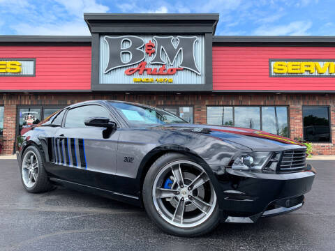 2011 Ford Mustang for sale at B & M Auto Sales Inc. in Oak Forest IL