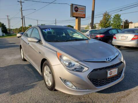 2012 Hyundai Sonata Hybrid for sale at Cars 4 Grab in Winchester VA