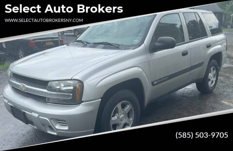 2004 Chevrolet TrailBlazer for sale at Select Auto Brokers in Webster NY