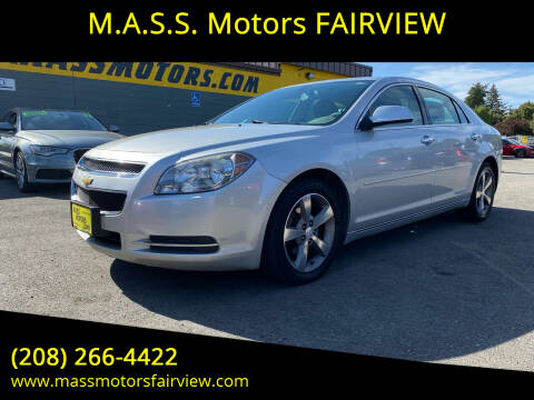 2012 Chevrolet Malibu for sale at M.A.S.S. Motors - Fairview in Boise ID