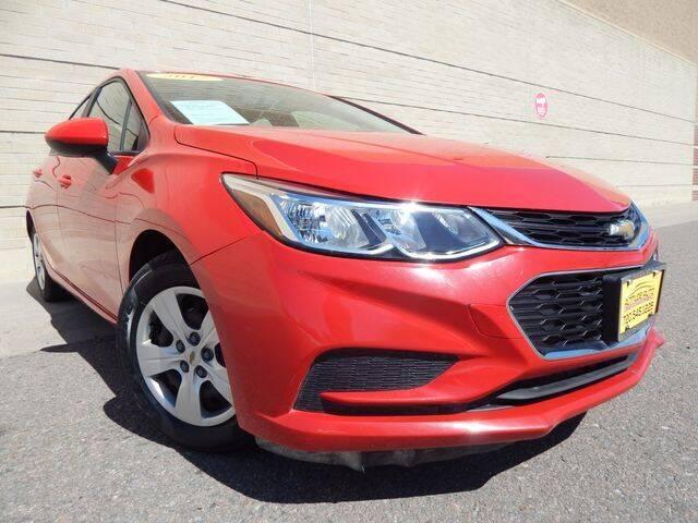 2017 Chevrolet Cruze for sale at Altitude Auto Sales in Denver CO