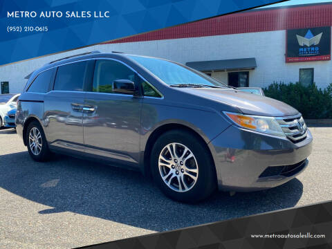 2013 Honda Odyssey for sale at METRO AUTO SALES LLC in Blaine MN