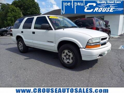 2004 Chevrolet Blazer for sale at Joe and Paul Crouse Inc. in Columbia PA