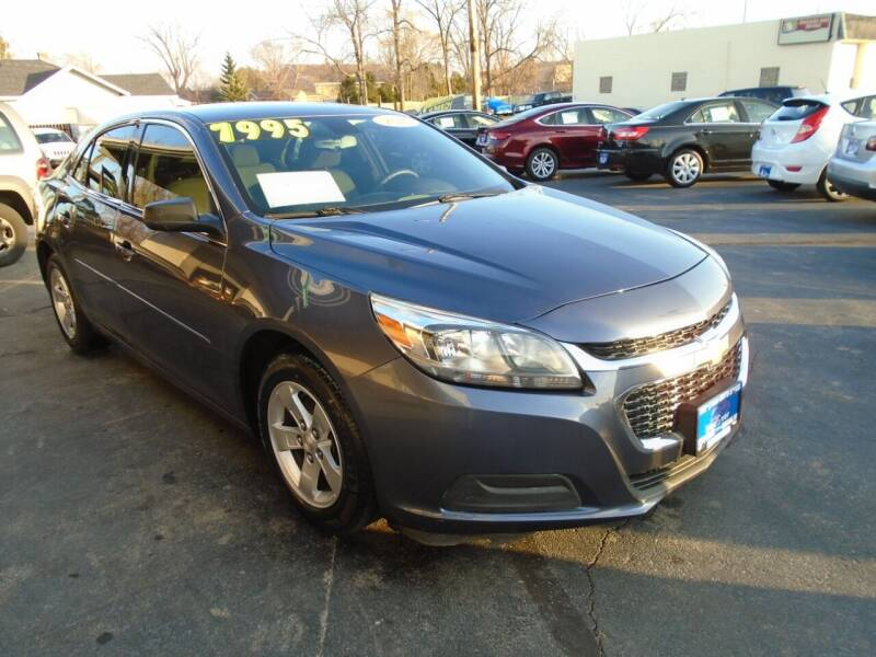 2015 Chevrolet Malibu for sale at DISCOVER AUTO SALES in Racine WI