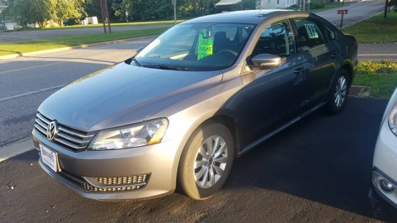 2012 Volkswagen Passat for sale at Draxler's Service, Inc. in Hewitt WI