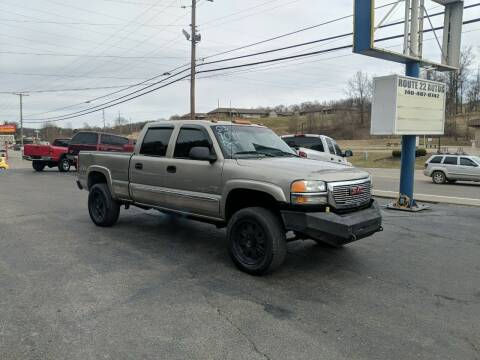 2003 GMC Sierra 2500HD for sale at Route 22 Autos in Zanesville OH