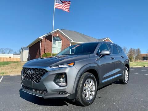 2019 Hyundai Santa Fe for sale at HillView Motors in Shepherdsville KY